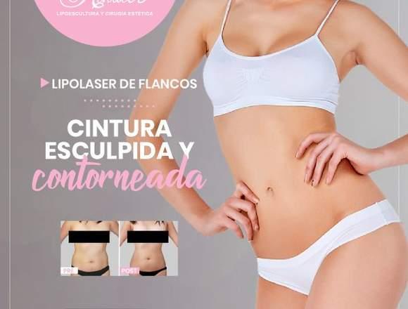 Reduce la grasa de los laterales - Clínica Renacer