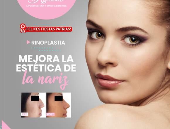 Corrige la estética de la nariz - Clínica Renacer