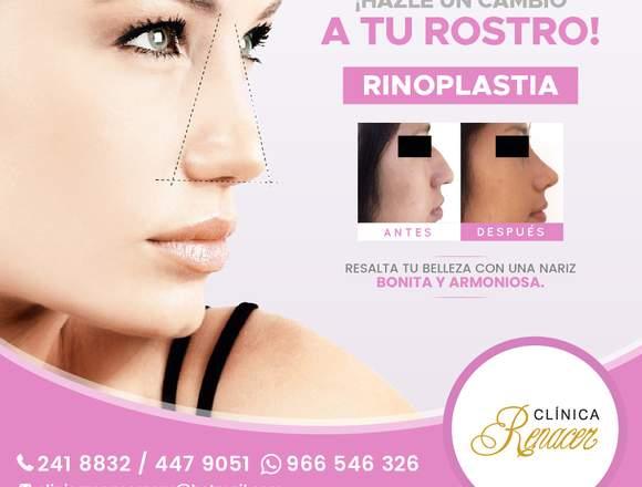 Dale nueva forma a tu nariz - Clínica Renacer