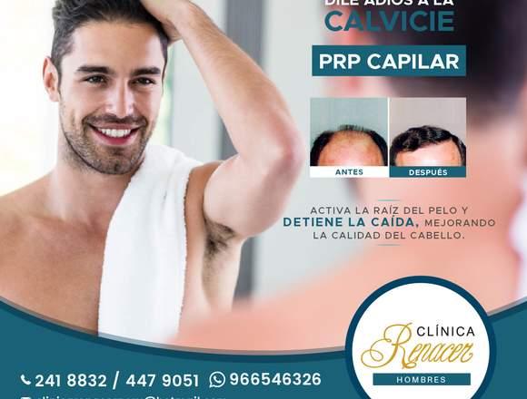 Combate la calvicie - Clínica Renacer