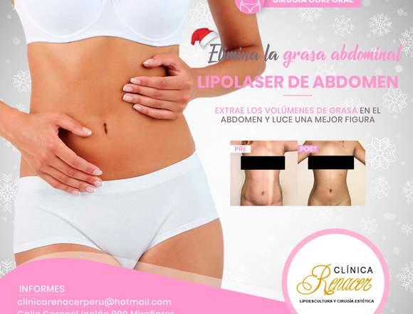 Disfruta de un abdomen sin grasa - Clínica Renacer