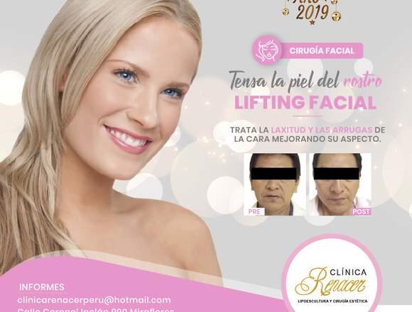 Elimina las arrugas faciales - Clínica Renacer