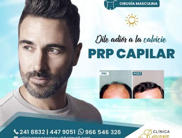 Tratamiento Alopecia con PRP - Clínica Renacer