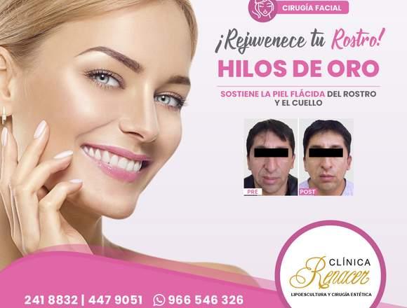 Combate la flacidez facial - Clínica Renacer
