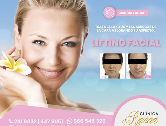 Reduce los pliegues o arrugas - Clínica Renacer
