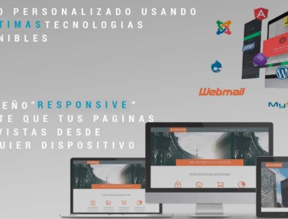 Diseño Y Desarrollo De Paginas Web A Medida