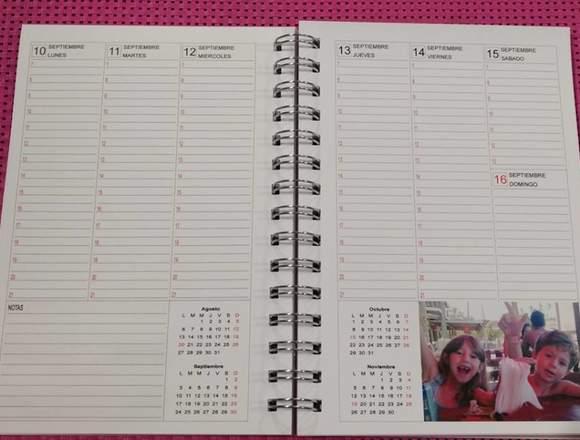 Agenda Personalizada con tus fotos!!
