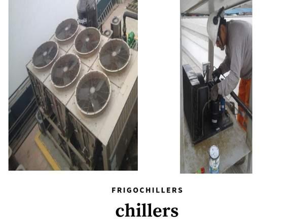 Mantenimiento y reparacion de chillers