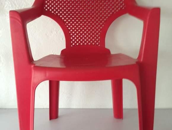 silla de plástico florencia