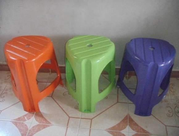 bancos de plástico bari