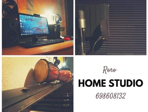 "HOME Estudio de grabacion Barcelona. ""Roro"""