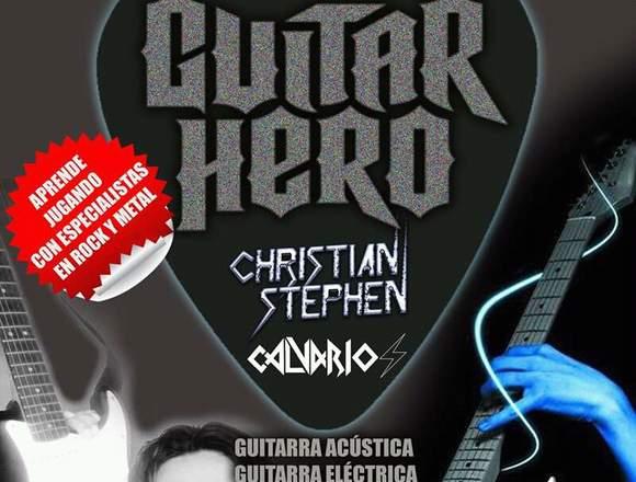 Cursos de Guitarra Bajo o Batería en Cotacachi