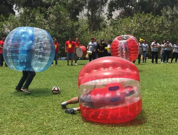Fútbol Burbuja: !Atrévete a vivir la experiencia!