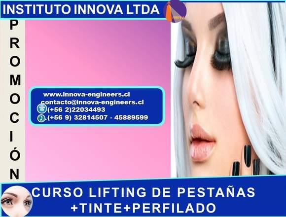 CURSO LIFTING DE PESTAÑAS +TINTE+PERFILADO