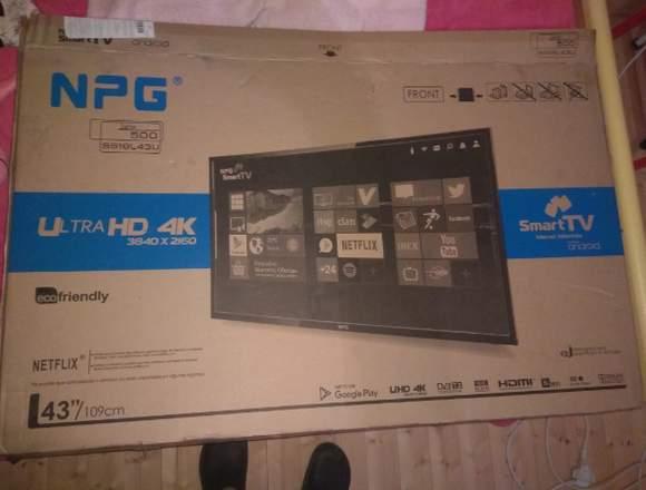 """Smart TV   43""""   4k NPG"""