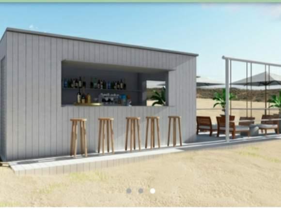 kiosco casa de madera bar cafeteria