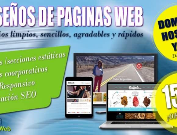 SERVICIO DE DISEÑO DE PAGINAS WEB EN BOLIVIA