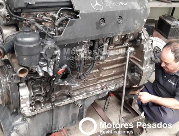 Reparación de motores Mercedes Benz