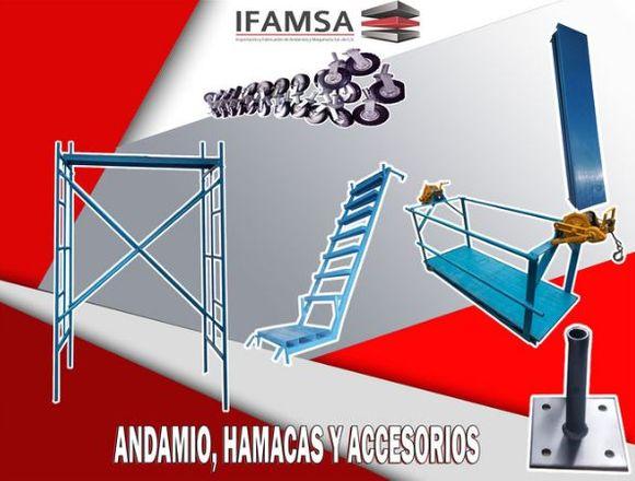 VENTA DE ANDAMIOS Y ACCESORIOS DE TRABAJO