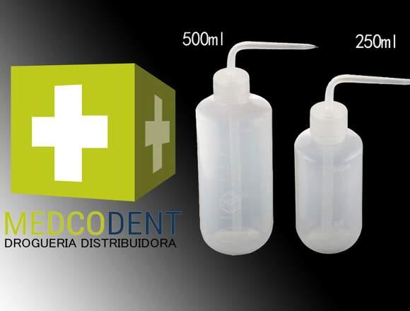 PISETAS DE PLASTICO GRADUADO X 500