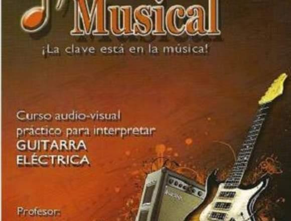 Curso para Interpretar Guitarra Eléctrica