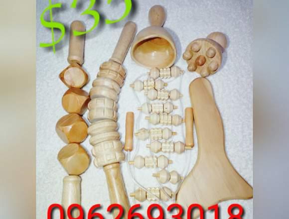 Kit de Maderoterapia Corporal