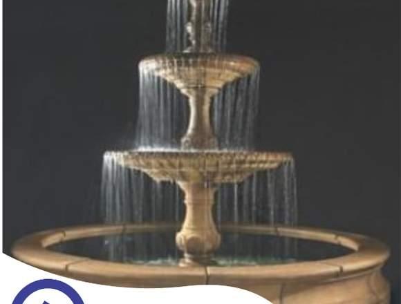 piletas de piedra,fuentes para jardín,velo de agua