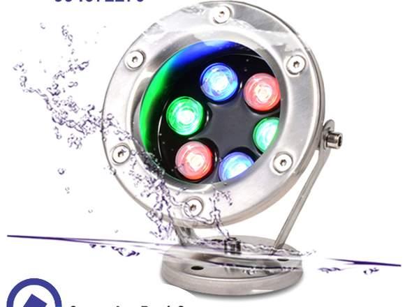 luces led sumergibles para piscinas, cascadas