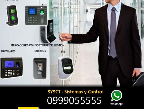 Reloj Biométrico Control de Asistencia