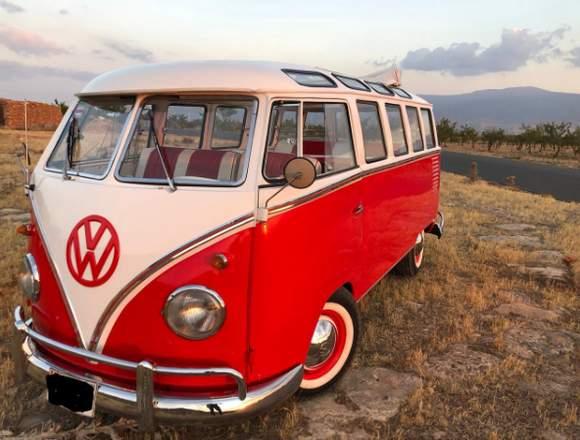 Volkswagen t1 samba de luxe 1958.