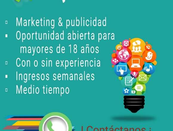 Oferta  marketing y publicidad