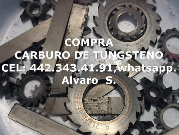 COMPRA PEDACERIA DE CARBURO DE TUNGSTENO