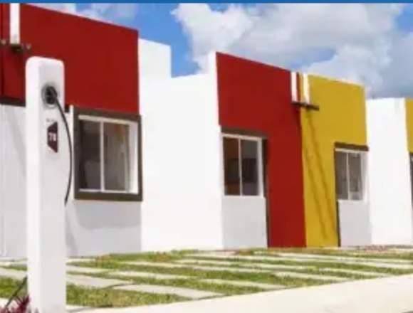 """Casa """"Sauce"""" Arcos Paraíso,Cancun..!solo 435,000!"""