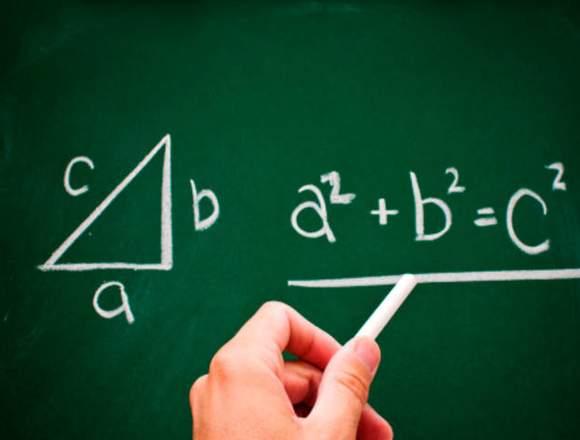 Realizo clases particulares de matematicas