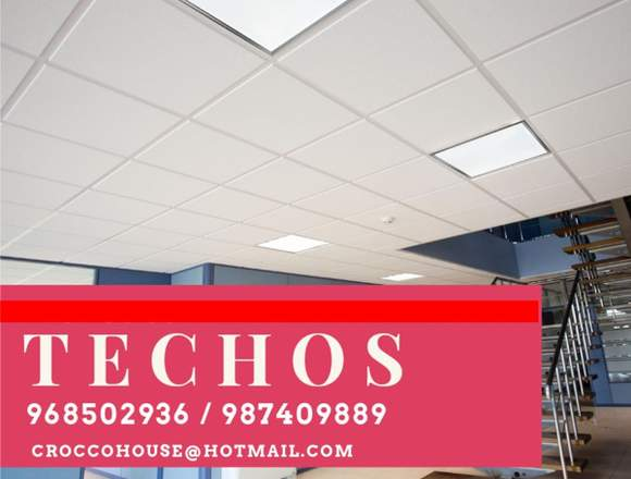 TECHOS LIVIANOS PARA OFICINAS / INSTALACION