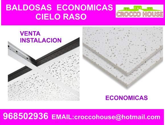 BALDOSAS PARA TECHO CIELO RASO LIMA 968502936
