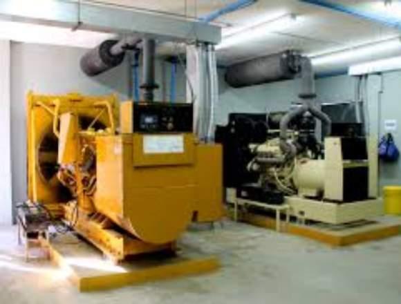 Reparación o montaje motores y plantas eléctricas