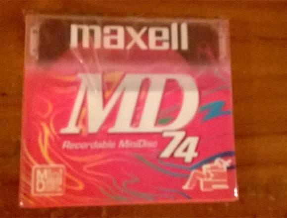 Maxell Minidisc Modelo: Md-74pr - Fuscia