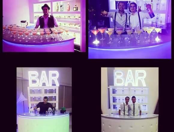 Bartender eventos cocteleria show matrimonios bar