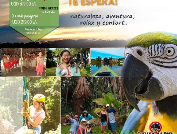 Viaje a Iquitos Perú agencia de viajes
