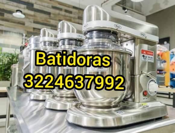 BATIDORAS INDUSTRIALES - HORNOS PANADERÍA