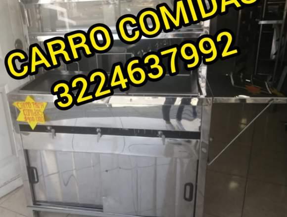 CARRO COMIDAS RÁPIDAS, FREIDORAS INDUSTRIALES