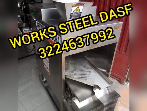 DESCASCARILLADORA DE CACAO - WORKS STEEL