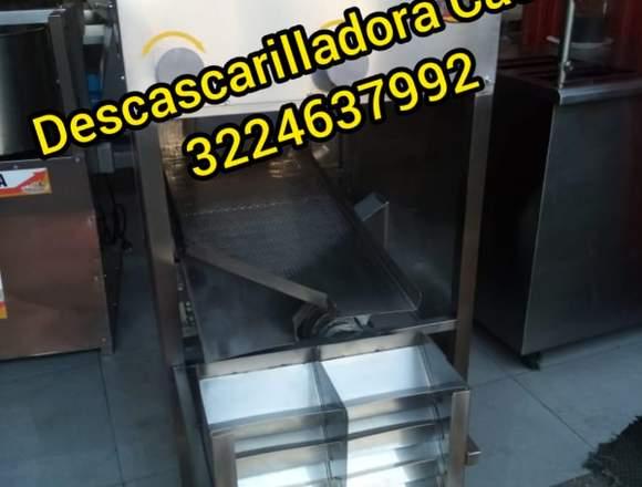 DESCASCARILLADORA CACAO MARCA WORKS STEEL DASF