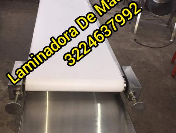MAQUINA LAMINADORA PARA AREPAS MARCA WORKS STEEL