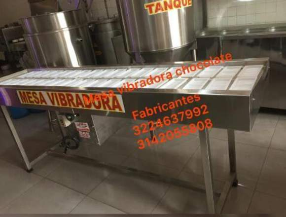MESA VIBRADORA PARA CHOCOLATINA - WORKS STEEL