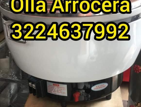 OLLA ARROCERA MARCA WORKS STEEL DASF