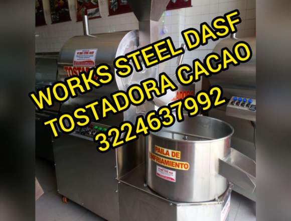 TOSTADORAS DE CACAO  EN WORKS STEEL DASF