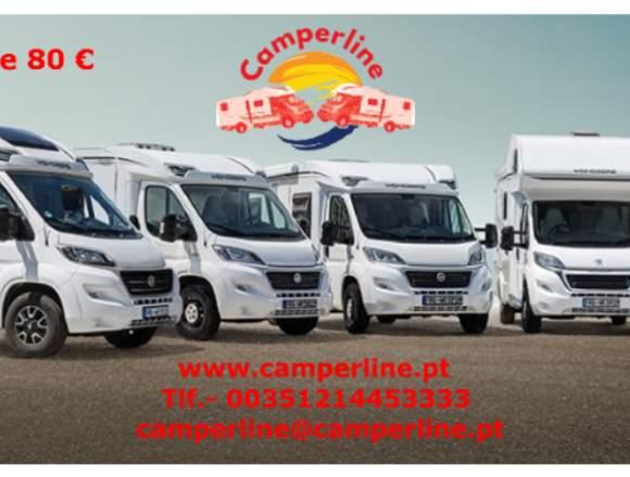 Camperline aluguer de auto-caravanas