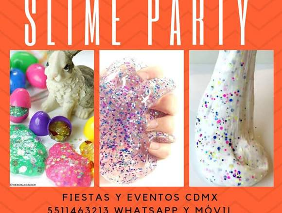 Fiesta Slime,Spa para niñas